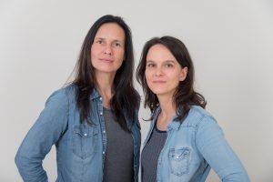 Foto von Antje Schulz und Diana Mehmel, Mitarbeiterinnen des NetzwerkPROjektes