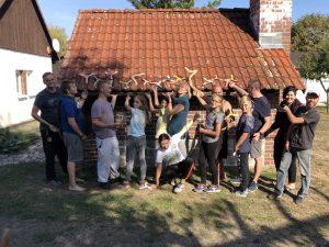 Gruppenbild Bumerangbau 2018